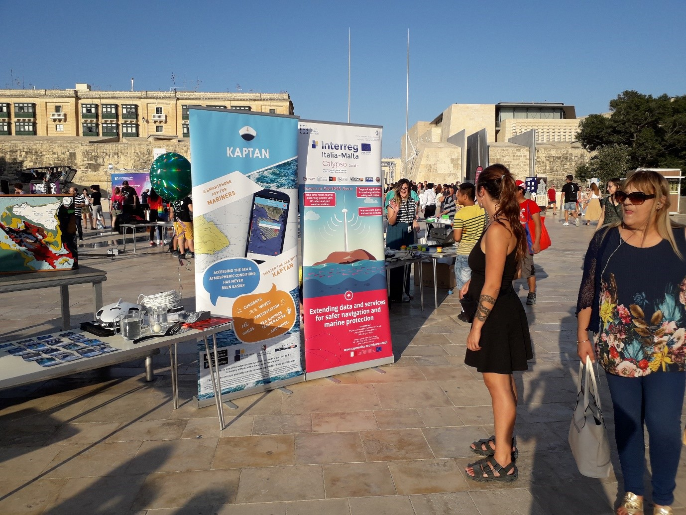 Physical Oceanography                  Research Group stand at SITC 2019